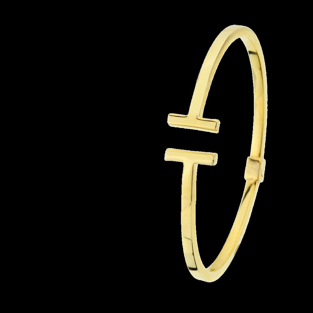 Çip Gold Çivi Modeli Altın Bileklik -BBL13