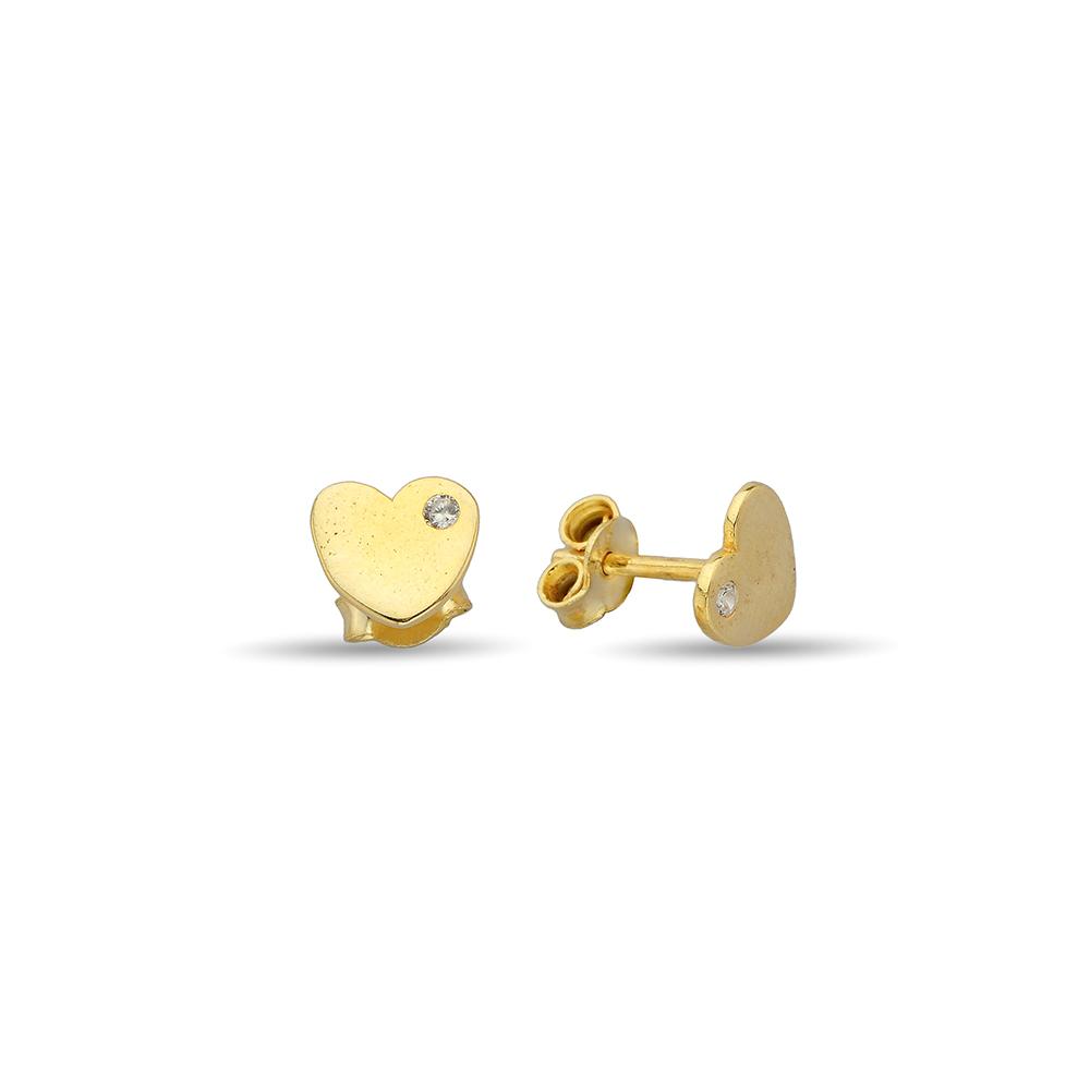 Çip Gold Altın Küpe